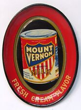 1910 MOUNT VERNON MILK Seattle Alaska Yukon Pacific Expo AYPE tin litho tip tray