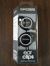 New KOSS Ear Clips  - KSC21k - Black