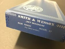 Smith & Wesson Model 27 357 Magnum 3 1/2 inch  Box