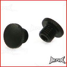 Motorcycle Motorbike M8 (8MM) Mirror Block Off Plugs - Left & Right Hand Threads
