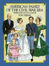 Dover Paper Dolls: American Family of the Civil War Era - Tom Tierney (1985, SC)