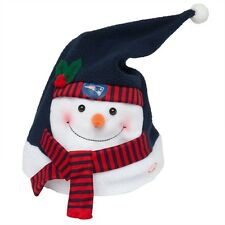 New England Patriots - Animated Snowman Musical Stocking Hat