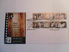 "- STAMPS INDIA - FIRST DAY COVER -  "" LEGENDARY HEROINES OF INDIA "" - 2011"