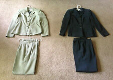 5 (11pc.) WOMEN'S DRESSBARN PANTS & SKIRT SUITS, SIZE 4