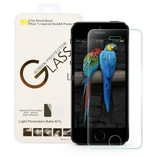 NEW Premium Tempered Glass Protective Film Screen Protector For iPhone 5/5S/5C