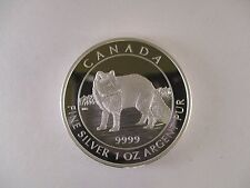2014 'Arctic Fox' Proof $5 Silver Coin 1oz .9999 Fine