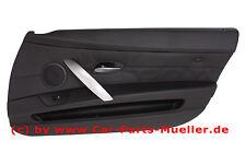 Z4 M 3,2 BMW e85 e86 Pelle tuerverkleidung pieno pelle Walknappa Nero