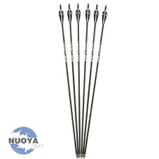 "New 30"" Carbon Shaft Arrow Sp500 Archery Arrow Metal Tips F R&C Hunting Tool X6"