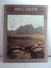 BIBLE LANDS- PHOTOGRAPHS, MAPS AND COMMENTARY