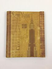 Decorative New York City Souvenir Magnetic Notebook Diary- Empire State Building