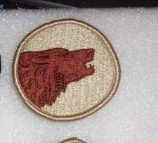 ARMY PATCH  104TH INFANTRY DIVISION, REVERSE COMBAT SIDE, DESERT,tan border