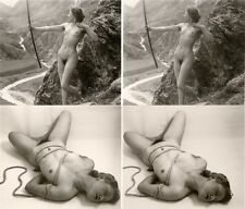 12 kunstvolle Akt - Stereofotos, Deutschland, Nude Stereoviews