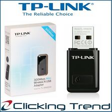 TP-Link Wireless 300 Mbps USB Adapter Computer PC WiFi Network Adapter Dongle