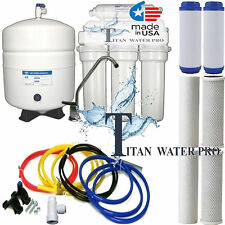 5 STAGE REVERSE OSMOSIS SYSTEM - RO WATER FILTER 100 GPD RO DRINKING WATER - USA