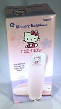 VTG SANRIO HELLO KITTY ❤︎ PINK MEMORY TELEPHONE W/CORD ❤︎ MIB NEW! KAWAII (2000)