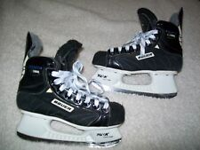 BAUER SUPREME 1000 ICE HOCKEY SKATES SIZE 2-1/2 SKATE--3-1/2 SHOE GREAT SHAPE