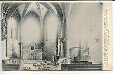 CP 55 Meuse - Laimont - L'Intérieur de l'Eglise bombardée 1914