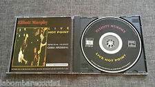ZZ- CD ELLIOTT MURPHY - LIVE HOT POINT - SPANISH EDITION - 1996 - BETIBU - RARE