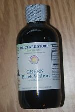Green Black Walnut Hull Tincture Dr. Hulda Clark 4 oz X-STRENGTH Parasite Cleans