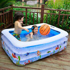 New Inflatable Swimming Pools Family  Lounge Baby Kids Water Play Fun Backyard