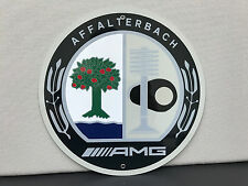 AMG rare sign german mercedes racing baked