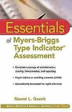 Essentials of Myers-Briggs Type Indicator Assessment (Essentials of Ps-ExLibrary