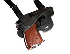 Walther PPK, Makarov, FEG PA63, shoulder gun holster, genuine leather №131-2