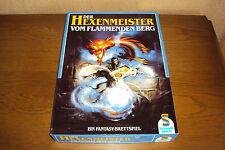 DER HEXENMEISTER VOM FLAMMENDEN BERG  Games Workshop 1986 unbenutzt neu