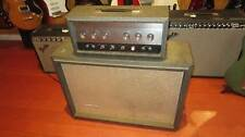 Vintage Circa 1964 Silvertone Model 1483 Piggy Back Amp 1X15 Guitar Amplifier