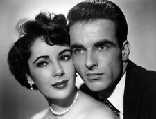 Montgomery Clift and Elizabeth Taylor UNSIGNED photo - D1066