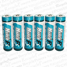 6 2000mah Ni MH AA 2A Rechargeable Battery CHARGE NICKEL METAL HYDRIDE Hyper PS