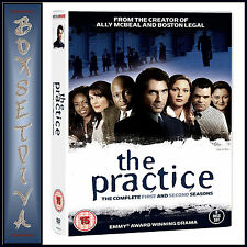 THE PRACTICE - COMPLETE SEASONS 1 & 2 **BRAND NEW DVD BOXSET ***