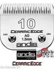 Andis AG CeramicEdge 10 Blade*Fit Oster A5,Most Wahl,Laube Clipper*Pet Grooming