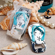25 - Flip Flop Bottle Openers Beach Wedding Favors - Free US Shipping