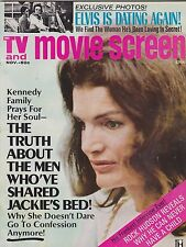NOV 1972 TV & MOVIE SCREEN vintage -- movie magazine --- JACKIE KENNEDY