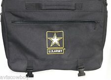 US Army Strong of One Messenger Laptop Tablet Satchel Travel Bag