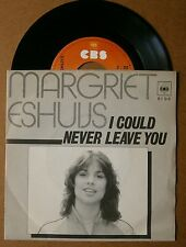 """7"""" Margriet Eshuys I Could Never Leave You Holland Ps Cbs 1980 Lucifer"""