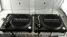 Technics SL-1200 MK3 Black Pair in Excellent Conditon