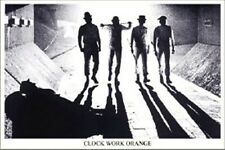 A CLOCKWORK ORANGE Movie Poster - B&W Tunnel Full Size 24x36 - Stanley Kubrick