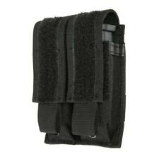 Blackhawk! Black Double Mag Pistol Mag Pouch - Speed Clip Mounting - 37Cl09Bk