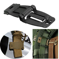 HOT Applied 30mm Molle Strap EDC Backpack Bag Webbing Connecting Buckle Clip