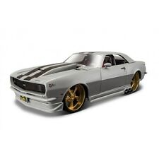 CHEVROLET CAMARO Z/28 1968 1:24 Grey Diecast Car Model Die Cast Cars Models