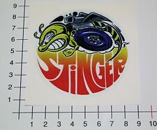 STINGER Aufkleber Sticker Oldschool Biene Hot Rod Custom Cars Tuning Bee Mi332