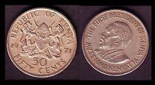 ★★ KENYA  ● 50 CENTS 1971 ● DES NOUVEAUTES AU QUOTIDIEN DANS MA BOUTIQUE ★★