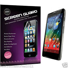 5 Pack High Quality Clear Film LCD Screen Protector for Motorola RAZR i XT890