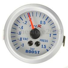 52mm Manomètre Pression Turbo Boost Vacuum Gauge Numérique Blue BAR Up To 1.5