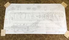 Avro Arrow CF105 Aviation Engineering Blueprint Reproduction Canadian