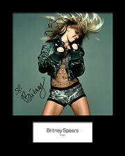BRITNEY SPEARS #3 Signed Photo Print 10x8 Mounted Photo Print - FREE DELIVERY