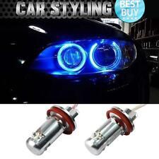 Pair 135i 323i 328i 335i 550i BMW BLUE Angel Eyes Light Halo Ring Marker LED