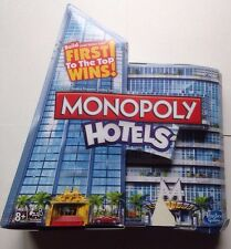 Monopoly Hotels Edition Board Game Complete Hasbro 2012
